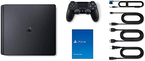 Mytrix Playstation 4 Slim 2TB SSD Console with DualShock 4 Wireless Controller Bundle, Playstation Enhanced with 2TB Solid State Drive