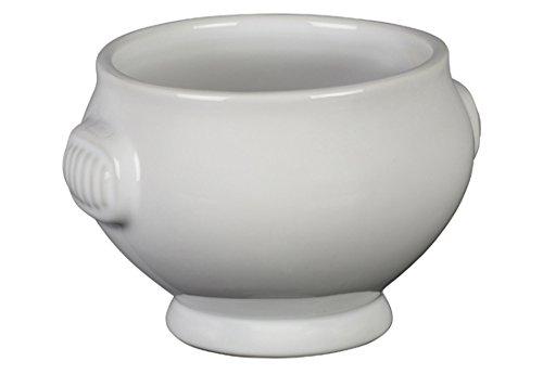 Le Creuset Heritage Stoneware Soup Bowl, 20-Ounce, White