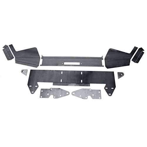 DIY Front Winch Bumper for 1984-2001 Jeep Cherokee XJ Bare Metal