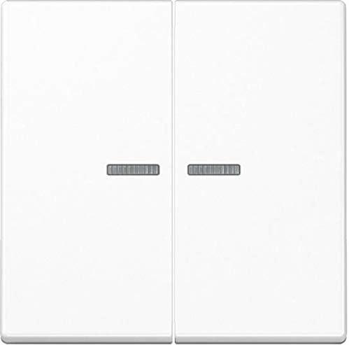 Jung Balancín Resistente a los Golpes para Serie Interruptor y Doble pulsador con luz Escalera Serie A Alpin Blanco, 1 Pieza, a 595 BF ko5 WW: Amazon.es: Bricolaje y herramientas