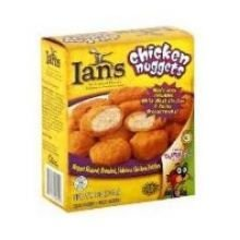 Ians Natural Foods Chicken Nugget, 20 Ounce -- 8 per case.