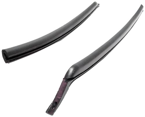 Metro Moulded Parts VS 3-QX Molded Rear Roll-Up Window Seal for 2-Door Hardtop and Convertible