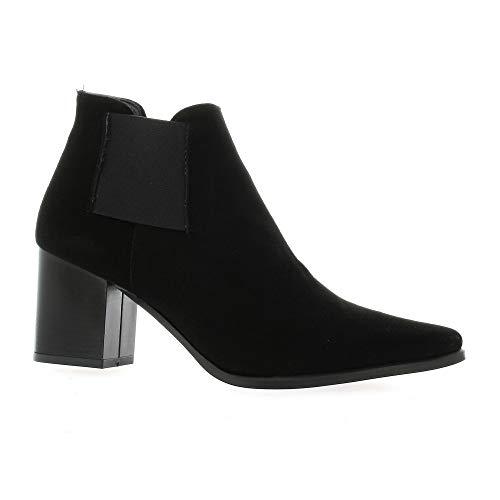 Boots Pao Pao Cuir Noir Boots Velours Noir Velours Cuir rrqRdw7