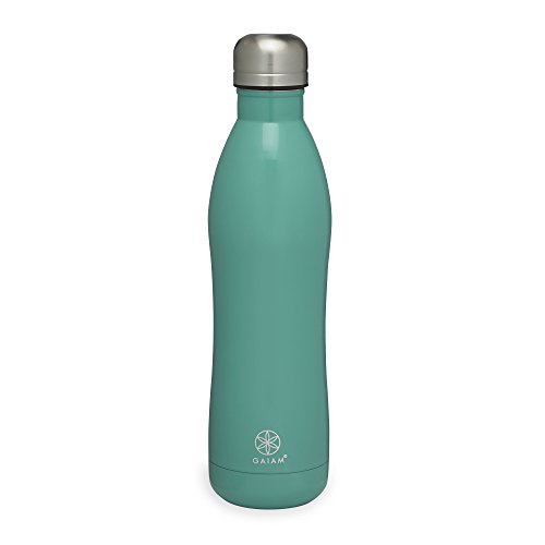 Gaiam Stainless Steel Water Bottle
