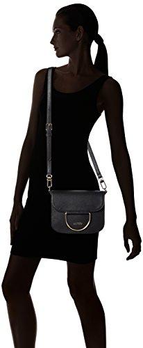 Liu Jo Maincy Flap - Bolsos bandolera Mujer Negro (Black)