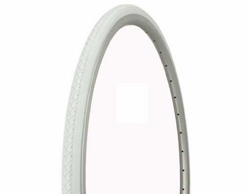 Tire Duro 700 x 25c White/White Side Wall HF-187.Bicycle tire, bike tire, track bike tire, fixie bike tire, fixed gear tire by Lowrider