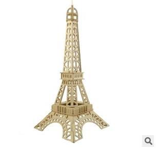 [해외]모형 나무 퍼즐 프랑스 에펠 탑 파리 / Model Wooden Puzzle France Eiffel Tower Paris