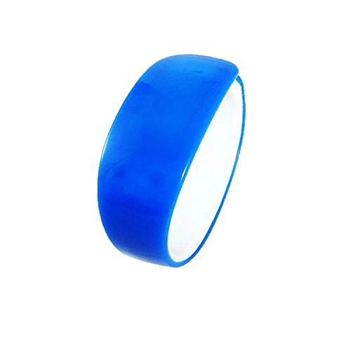 Jelly Sport Wrist Watch (LD Silicone Gel Jelly Unisex LED Wrist Band Watches (Blue))
