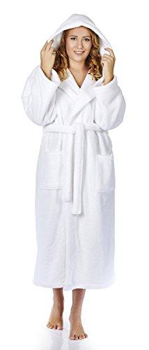 White Hooded Fleece - 1