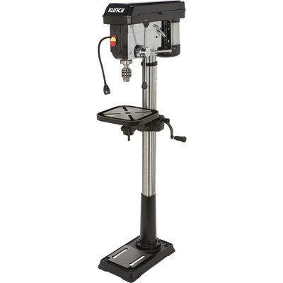 Klutch 14in. Floor Mount Drill Press - 1 HP, 12-Speed by Klutch