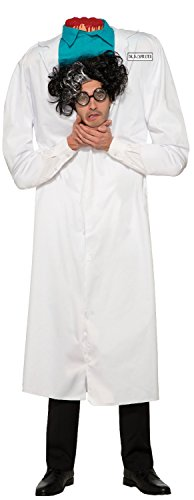 Mens Ladies Adults Dr D'Capitated Beheaded Man Bloody Gory Halloween Horror Scary Zombie Fancy Dress Costume Outfit -