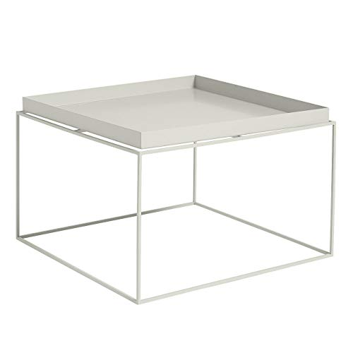 Tray Table - Mesa de cafe gris calido/60x60x3