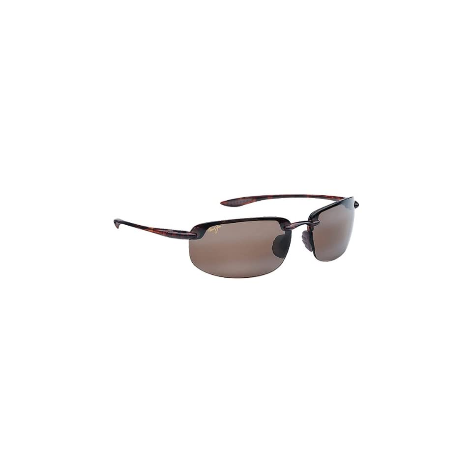 Maui Jim Sunglasses Hookipa Mens Polarized Eyewear   Tortoise/Maui Rose / One Size Fits All