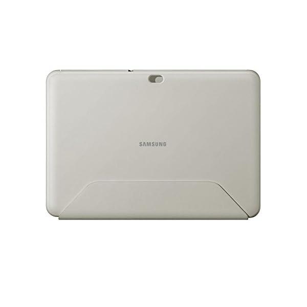 Samsung Book Cover - Funda para Samsung GT-P7500 Galaxy Tab 10.1 (función soporte), blanco 4