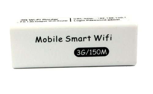 Bluesky New 3in1 Portable 3g/4g Wireless Wifi 150mbps Ap Hotspot Router (White)