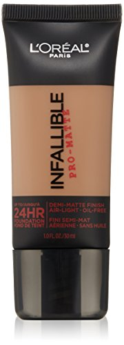 Paris Creme - L'Oréal Paris Infallible Pro-Matte Foundation, Créme Café, 1 fl. oz.
