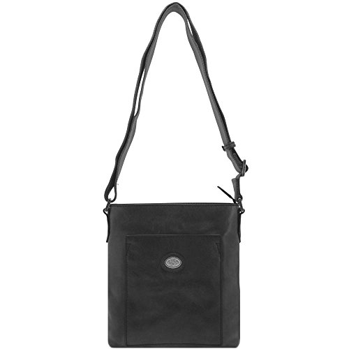 The Bridge Bureau Skin Shoulder Bag 22 Cm Nero