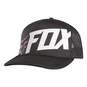 Fox Racing Mens Typical Snapback Adjustable Hat, Black, One Size (Fox Hat Snapback)