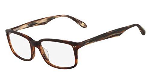 MARCHON Eyeglasses M-BENTLEY 210 Matte Brown Horn - Bentley Glasses Price