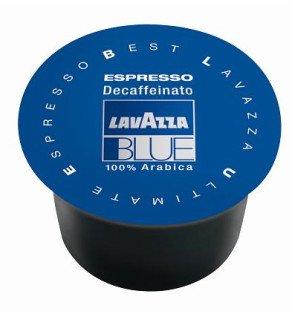 Coffee Decaffeinated Lavazza (Lavazza BLUE Capsules, Espresso Decaffeinato Coffee Blend, Decaffeinated Medium Roast, 28.2-Ounce Boxes (Pack of 100))