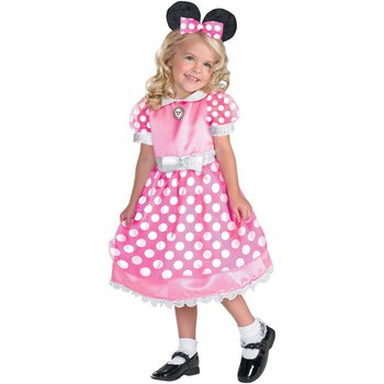 Pink Minnie Mouse Child Costume - 4-6X by Spook Shop