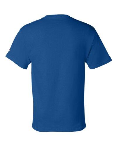shirt T Uomo Blu shirt Champion Blu T T Champion Champion Uomo nfg8Rxwqx