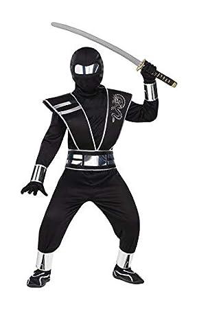 Horror-Shop Espejo Ninja Costume Niño: Amazon.es: Juguetes y ...