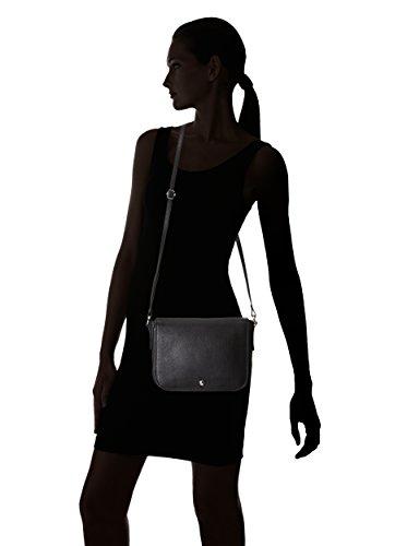 Bree Sofia 8 borsa a tracolla pelle 29 cm Schwarz
