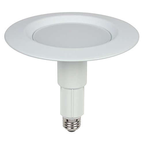 Westinghouse Lighting 3105000 75-Watt Equivalent Adjustable Recessed Downlight Dimmable Bright White LED Energy Star Light Bulb with Medium Base, Single Pack ()