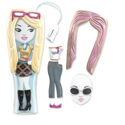 (Barbie Girls MP3 Player - Blue, Gold and Silver Outfits)