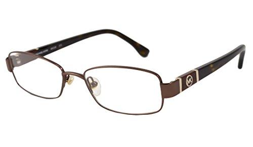 Michael Kors Eyeglasses MK338 210 Brown Demo 50 16 ()