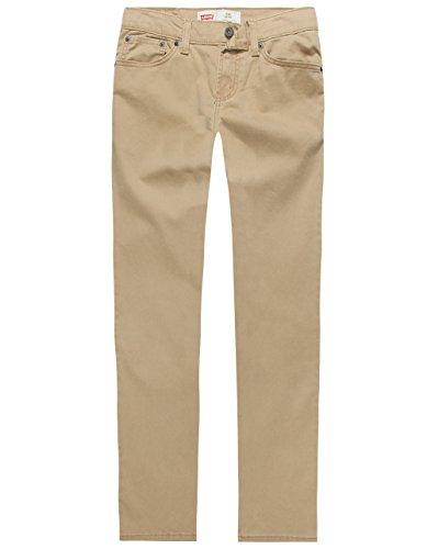 Levi's Boys' 511 Slim Fit Soft Brushed Pants,Harvest Gold,