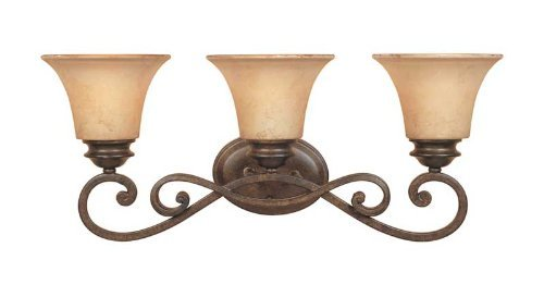 Designers Fountain 81803-FSN Mendocino 3 Light Bath Bar