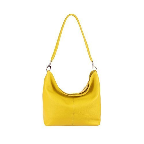 OBC Only-Beautiful-Couture - Bolso al hombro para mujer Verde verde menta 36x24x14 cm (BxHxT) Amarillo V1