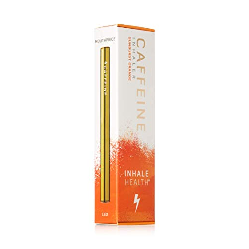 Caffeine Sunburst Orange Inhaler - Instant Energy - Nicotine-Free