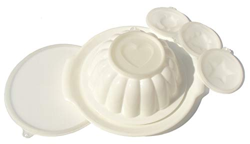 VINTAGE Tupperware Jello Mold with 4 designs -- as shown ()