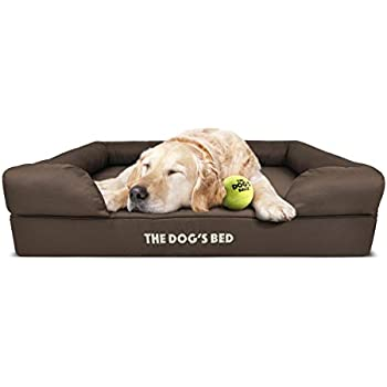 Amazon.com : The Dog's Bed Orthopedic Dog Bed Large Brown