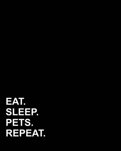 Read Online Eat Sleep Pets Repeat: Menu Planner, Family Menu Planner With Shopping list, Notes And Budget, Meal Planning Notebook for Meal Plan Program, 52 Weeks Meal Planner Notebook (Volume 32) pdf epub