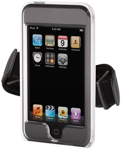 Griffin 8211-ITCLRBA iClear Hard Shell with Belt Clip and Armband for iPod Touch