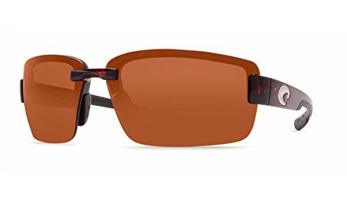 Costa Del Mar Galveston Polarized Sunglasses, Tortoise, Copper 580P by Costa Del Mar