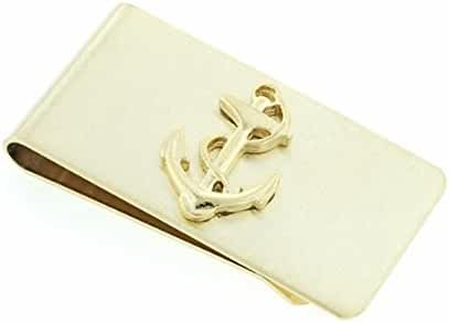 JJ Weston Anchor and Rope Money Clip. Made in the USA.