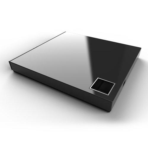 Asus - SBW-06D2X-U/BLK/G - Asus Optical Device SBW-06D2X-U/BLK/G External Slim 6X Blu-ray Writer BDRW DVDRW with Power2go7 Software Black Retail