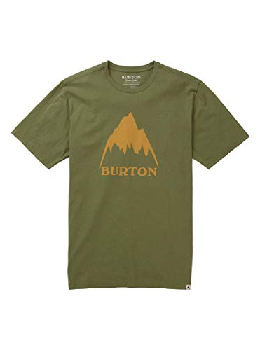 Burton Men's Classic MTN High Short Sleeve Tee, Weeds, Medium