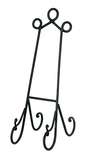 Benzara Metal Easel Made of Premium Grade Metal Alloy by Benzara