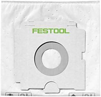 Festool CTM 26 E AC CLEANTEC Aspirateur mobile 26L Staubkl. M (574978) + Sacs Extra