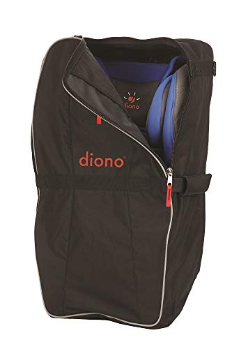 Diono Car Seat Travel Bag, Designed to Carry Convertible Car Seats, Black