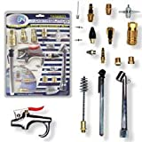Pit Bull TAIA0933 Pneumatic Accessory Kit Air Compressor, Power Tools, 18 Piece