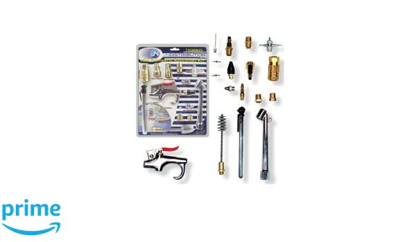Pit Bull TAIA0933 Pneumatic Accessory Kit Air Compressor, Power Tools, 18 Piece - - Amazon.com