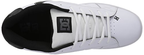 DC Men's Net Lace-Up Shoe White/Battleship/White outlet extremely discount 2015 clearance genuine f93T0jw