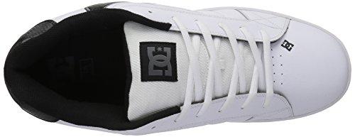 DC Battleship Net Shoes unisex White Sneakers White 8d8xwrX